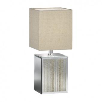 настолна лампа bert, ceramic gold coloured, 1xE14, fischer&honsel, 50257