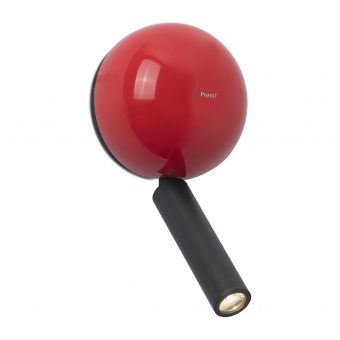 аплик press, red, led 3w, 3000k, 180lm, faro, 62352