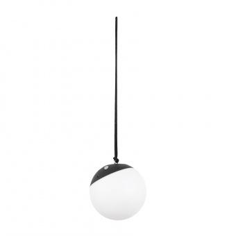 преносима градинска лампа voila, dark grey, led 2w, 3000k, rgb, faro, 71565