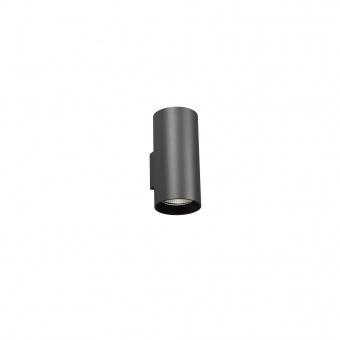 градински аплик thon, black, led 2x20w, 3000k, 2400lm, faro, 70284