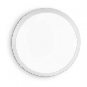 плафон gemma pl d40, white, led 24w, 3000k, 1650lm, ideal lux, 252612