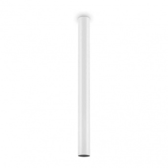 луна look pl1 h75, white, 1x7w, 3000k, 560lm, ideal lux, 233352