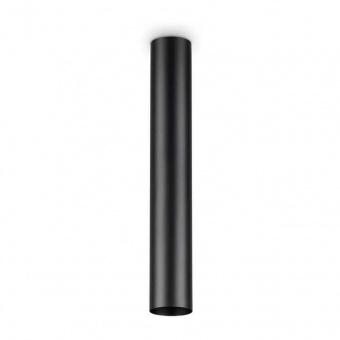 плафон look pl1 h40, black, 1x7w, 3000k, 560lm, ideal lux, 233192