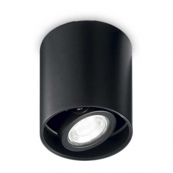 луна mood pl1 small round, white, 1x28w, 3000k, 640lm, ideal lux, 243924