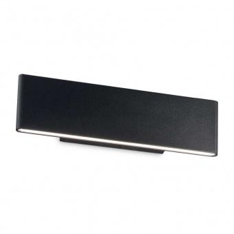 аплик desk ap2, black, led 2x6w, 3000k, 1100lm, ideal lux, 173252