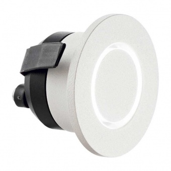 луна o-line round, white, led 3w, 3000k, 210lm, ideal lux, 239705