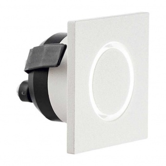 луна o-line square, white, led 3w, 3000k, 210lm, ideal lux, 239811
