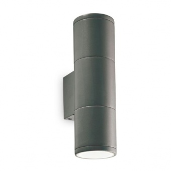 градински аплик gun ap2 small, antracite, 2xGU10, ideal lux, 236841
