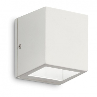 градински аплик twin ap1 small, white, 1x3.2w, 3000k, 300lm, ideal lux, 229522