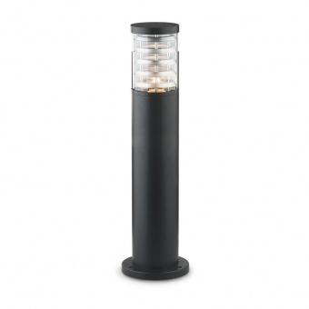 градински стълб tronco pt1 h40, black, 1xE27, ideal lux, 248295