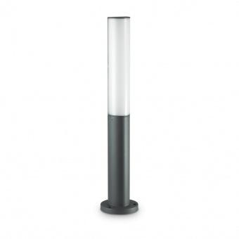 градински стълб etere pt, antracite, led 10.5w, 3000k, 720lm, ideal lux, 246932