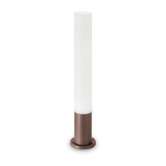 градински стълб edo outdoor pt1 round, coffee, 1xGX53, ideal lux, 213071