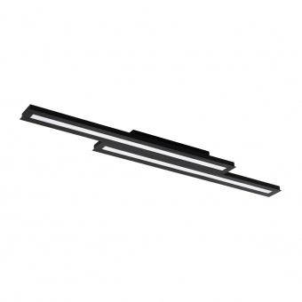 плафон saliteras-c, black/white, led 2x10w, 2x1600lm, rgb+tw, eglo, 99411
