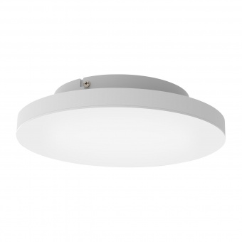 плафон turcona-c, aluminium/white, led 15w, 2000lm, rgb+tw, eglo, 99118