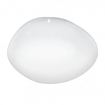плафон sileras-a, white/crystal effect, led 36w, 3300lm, eglo, 98228