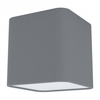 плафон posaderra, grey, 1xE27, eglo, 99304