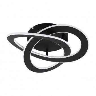 плафон rolimare, black/white, led 35w, nautral white, 5500lm, eglo, 99395