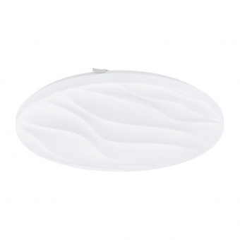 плафон benariba, white, led 22w, warm white, 2450lm, eglo, 99344