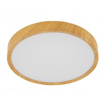 плафон musurita, natural wood look/white, led 16.8w, warm white, 2000lm, eglo, 98601