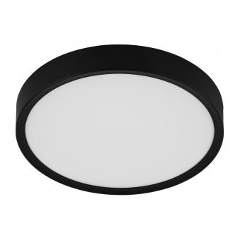 плафон musurita, black/white, led 16.8w, warm white, 2000lm, eglo, 98603