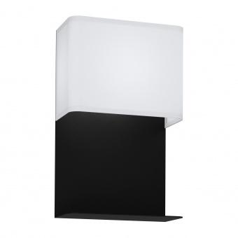 аплик galdakao, black/white, led 5.4w, warm white, 410lm, eglo, 99069