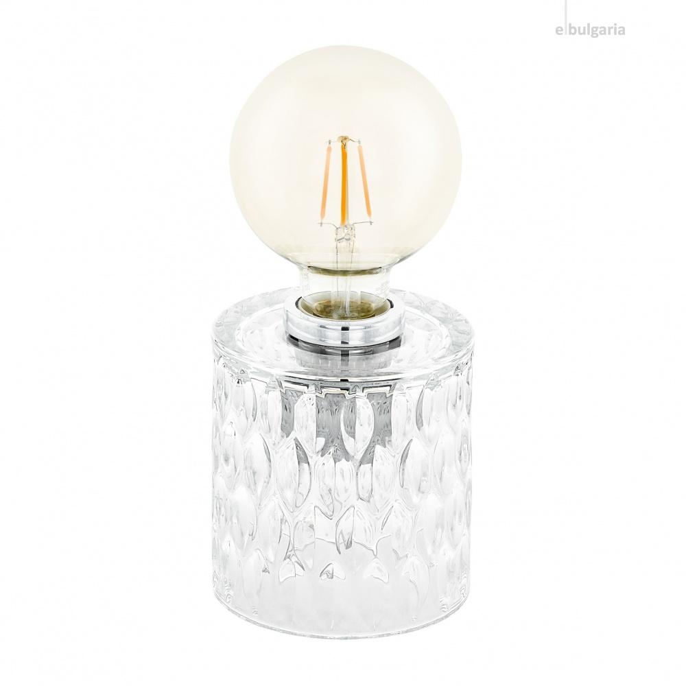 настолна лампа cercamar, clear, 1xE27, eglo, 99084