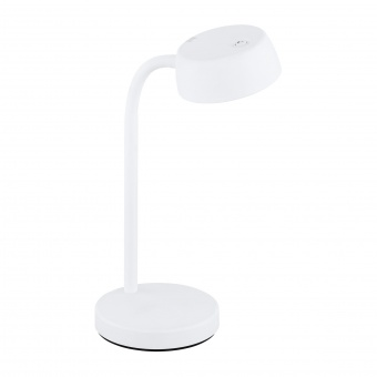 работна лампа cabales, white, led 4.5w, warm white, 500lm, eglo, 99334