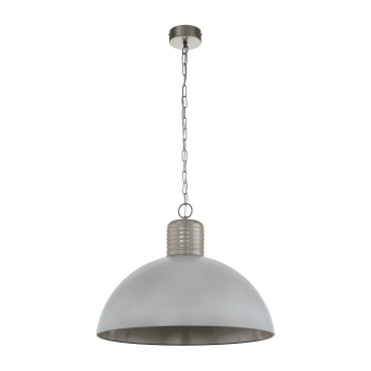 пендел coldridge, pearl grey/winter grey , 1xE27, eglo, 49757