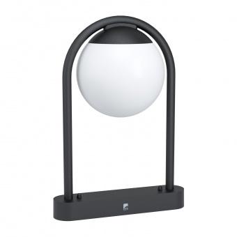 градинска настолна лампа prata vecchia, black/white, 1xE27, eglo, 98732