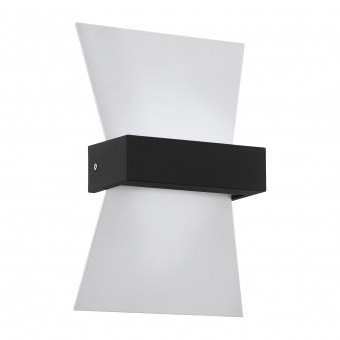градински аплик albenza, white/anthracite, led 4.8w, warm white, 500lm, eglo, 98717