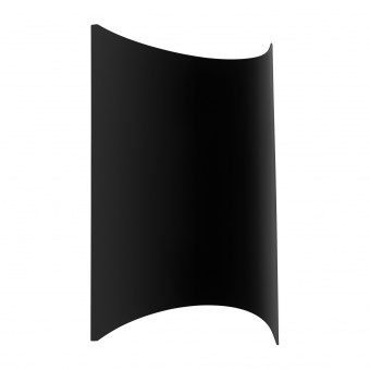 градински аплик lagasco, black, led 10w, eglo, 98736