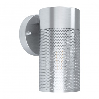 градински аплик fantecolo, stainless steel/clear, 1xE27, eglo, 98741