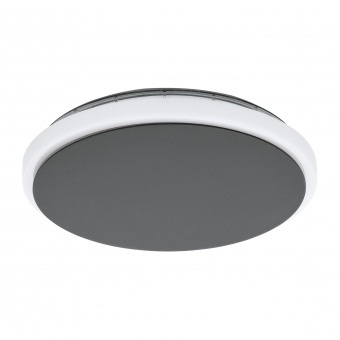 градински аплик mongodio, anthracite/white, led 11.5w, warm white, 1450lm, eglo, 98712