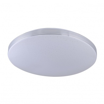 плафон oscar, white/crystal effect, led 36w, 4000k, 2700lm, rabalux, 3411