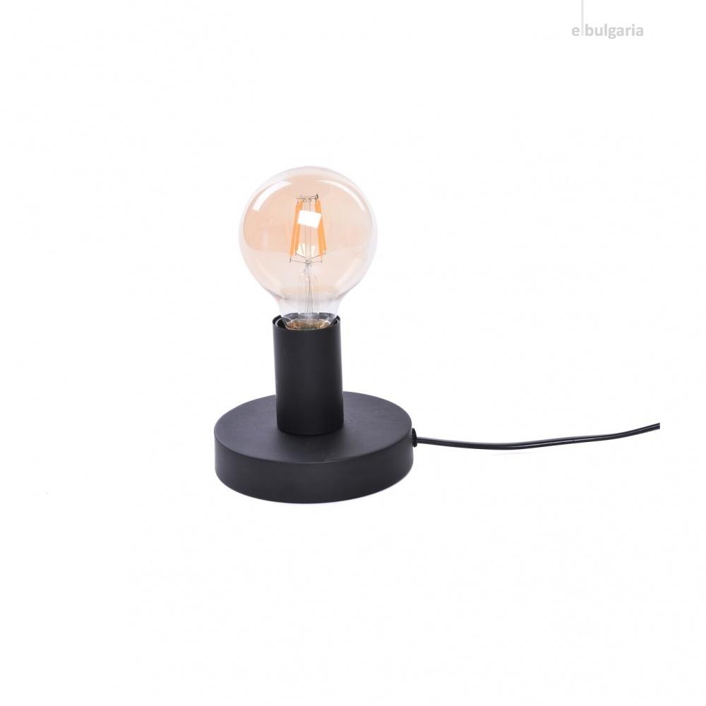 настолна лампа bowie, black, 1xE27, rabalux, 6569