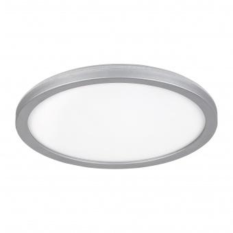плафон lambert, white/silver, led 15w, 4000k, 1500lm, rabalux, 3358