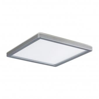 плафон lambert, white/silver, led 15w, 4000k, 1500lm, rabalux, 3359