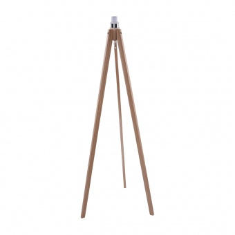 основа за лампион tripod wood, natural oak, 1xE27, azzardo, az3013