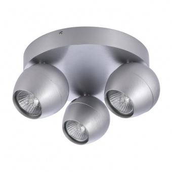 спот pera 3 round, aluminium, 3xGU10, azzardo, az1253