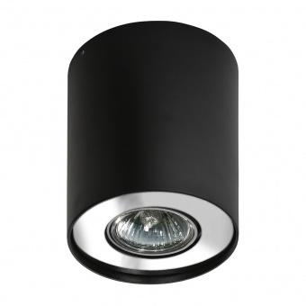 луна за външен монтаж neos 1, black/chrome, 1xGU10, azzardo, az0708