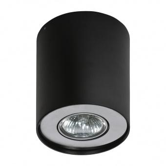 луна за външен монтаж neos 1, black/aluminium, 1xGU10, azzardo, az0607