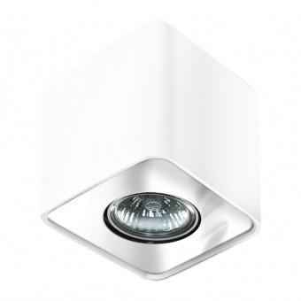 луна за външен монтаж nino 1, white/chrome, 1xGU10, azzardo, az0735