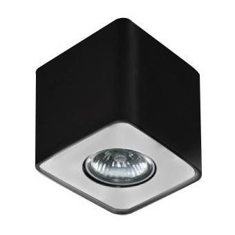 луна за външен монтаж nino 1, black/aluminium, 1xGU10, azzardo, az1383
