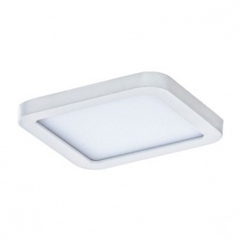 луна slim square 9, white, led 6w, 3000k, 500lm, azzardo, az2830