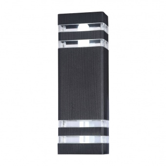 градински аплик unter den linden, black, 2xE27, maytoni, o578wl-02b