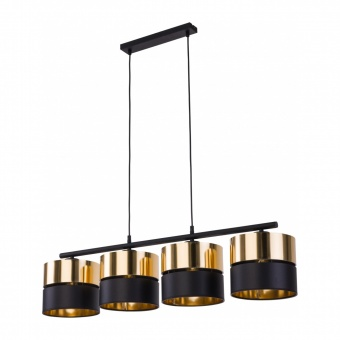 полилей hilton, black+gold, 4xE27, tk lighting, 4342