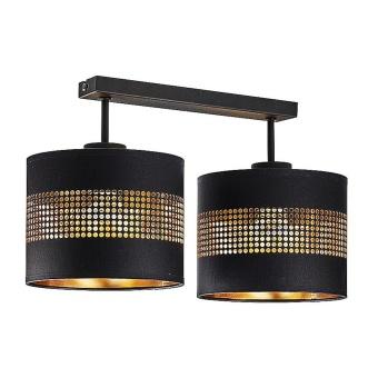 полилей tago black, black+gold, 2xE27, tk lighting, 3212