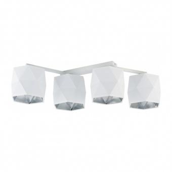 плафон siro white, white, 4xE27, tk lighting, 3249