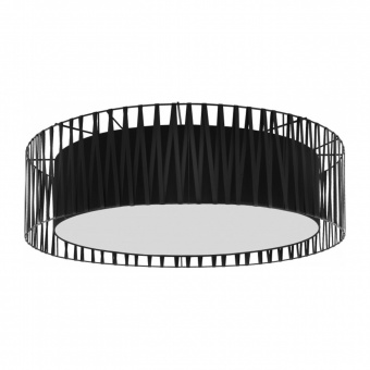 плафон harmony black, black/white, 4xE27, tk lighting, 1658