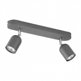 спот top, grey, 2xGU10, tk lighting, 3302